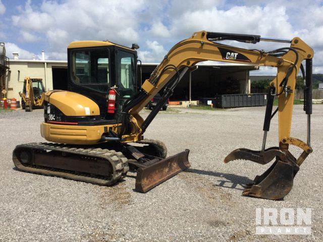 2005 cat 304 cr mini excavator in knoxville tennessee united rh ironplanet com Cat 304.5 Specifications Cat 304.5 Specifications
