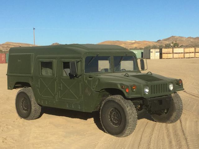 AM General M1123 HMMWV 4 Door