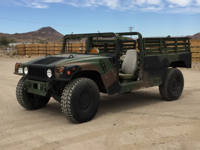 Military Surplus Auction >> Am General M1123 Hmmwv 2 Door