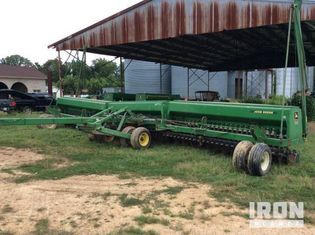 John Deere 455 Seed Drill In Spring Grove Virginia United