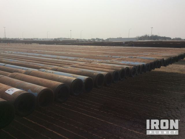Lot of 2014 HaiLong Heavy Weight Drill Pipe in Nisku
