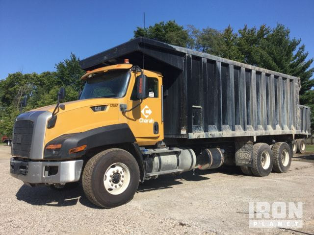 2015 Cat CT660 T/A Dump Truck in Evansville, Indiana, United States ...