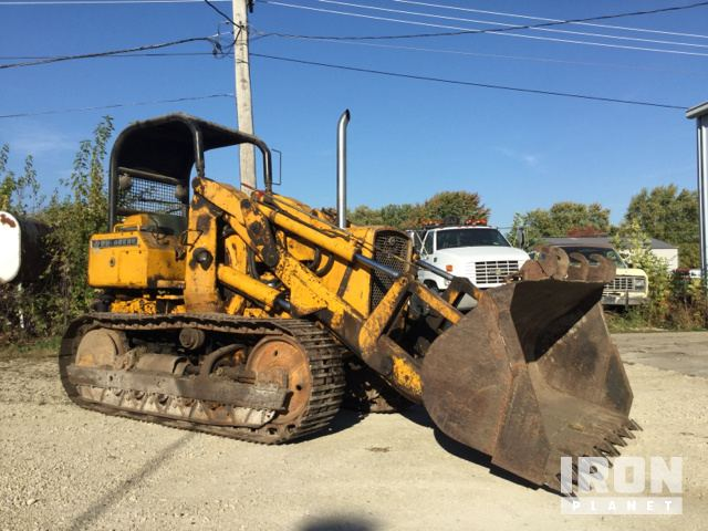 John Deere 450 Crawler Loader in Manteno, Illinois, United