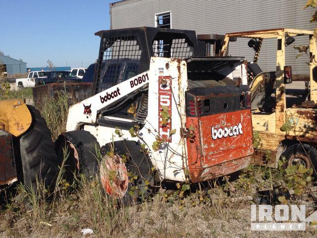 Bobcat 853 Skid Steer Loader In Windsor Ontario Canada