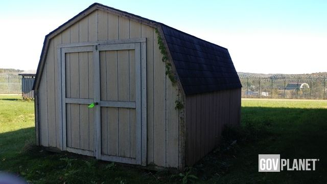 10ft X 12ft X 8ft Wood Shed Tag 036 In New Castle Pennsylvania