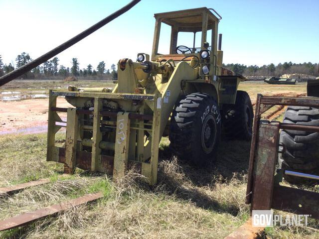 Surplus International Hough M10A Rough Terrain Forklift in