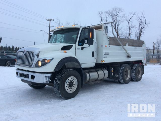 2015 International WorkStar 7600 T/A Dump Truck in Edmonton