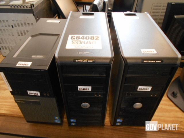 Lot (2) Dell Optiplex 380 and (1) Optiplex 390 in Crestview