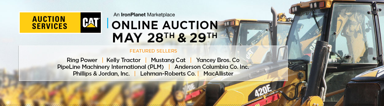 IronPlanet May 28th & 29th Auction