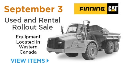 Finning Equipment Auction