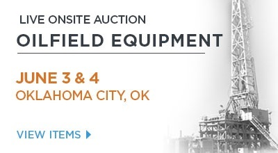 Kruse Energy and Equipment Auction, Oklahoma City,OK, June 3 & 4