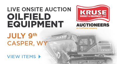 Kruse Energy and Equipment Auction, CASPER, WY • July 9th, 2015