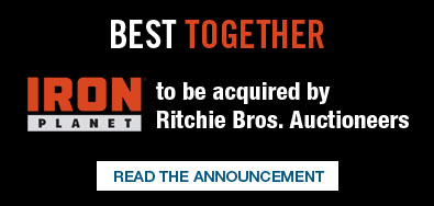IronPlanet to be acquired by Ritchie Bros. Auctioneers
