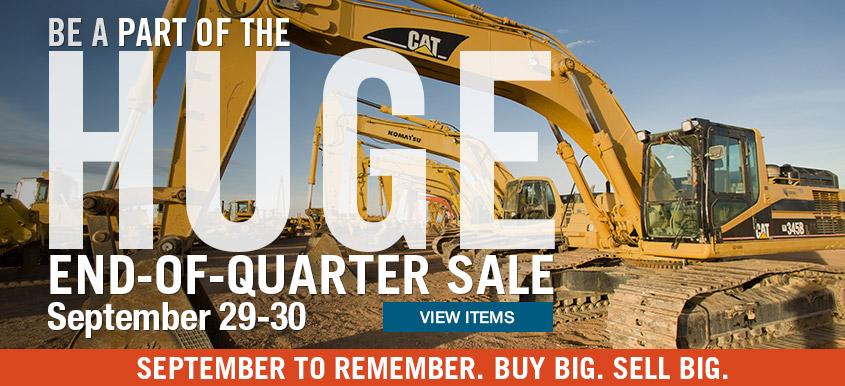 End of Quarter Sale