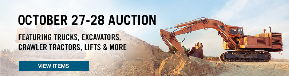 October 20 Auction - IronPlanet