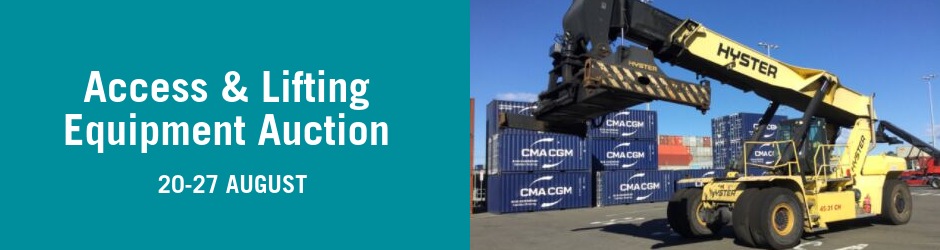 Special Event - Access and Lifting Equipment Auction