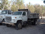 1987 Ford F700 S/A Dump Truck