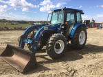 2003 New Holland TL100DT 4x4 Farm Tractor
